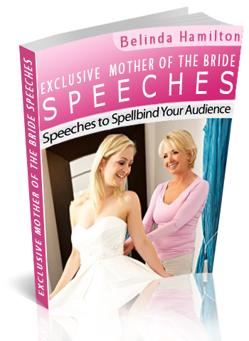 Mother of the Bride Speech book